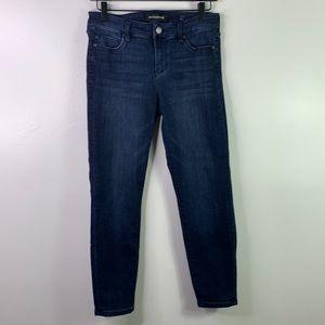 LIVERPOOL Ankle Skinny Jeans Dark Wash 6 Petite